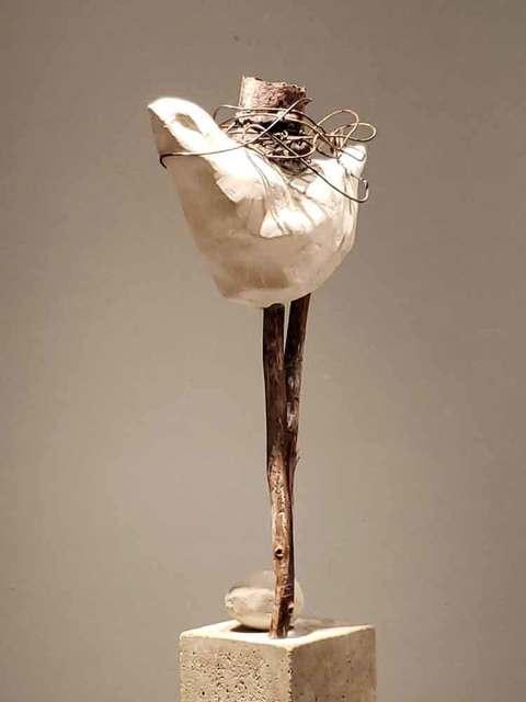, ' Individual immobilized by his choices (Individu  immobilisé par ses choix),' 2019, Galerie Blanche