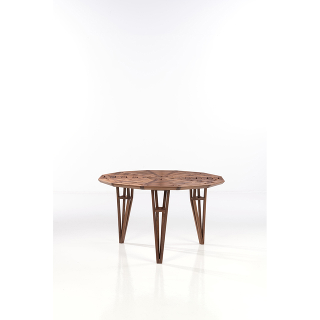 Michele de Lucchi, 'Paestum - Limited edition, Table', 2018, Design/Decorative Art, Noyer massif, PIASA