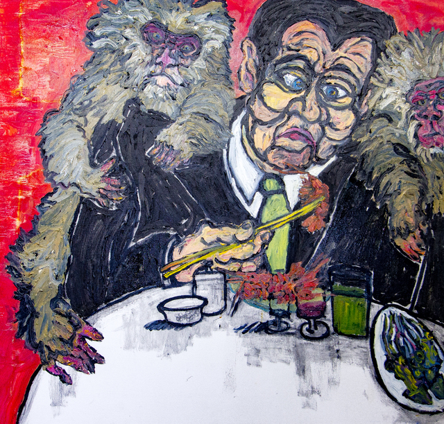 , 'Man, Sushi, & Monkeys,' ca. 1980, Untitled 2.0