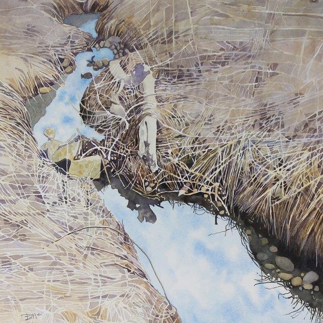 Brian McCormick, 'Rocky Creek--Dry Grass', 2018, James May Gallery