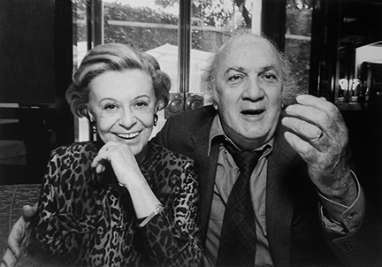 , 'Federico Fellini and Giulietta Masina, Rome,' 1992, Staley-Wise Gallery