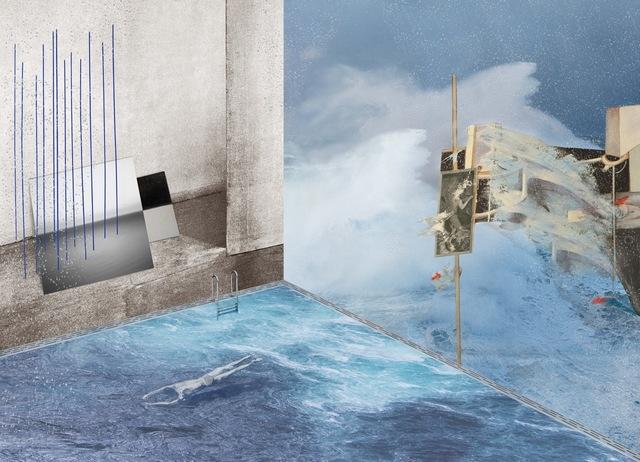 , 'Water,' 2014, Galerie Kleindienst