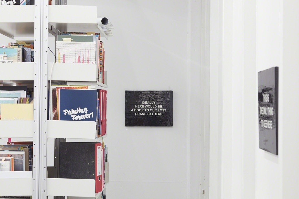 Laure Prouvost | Exhibition view at carlier | gebauer 2015
