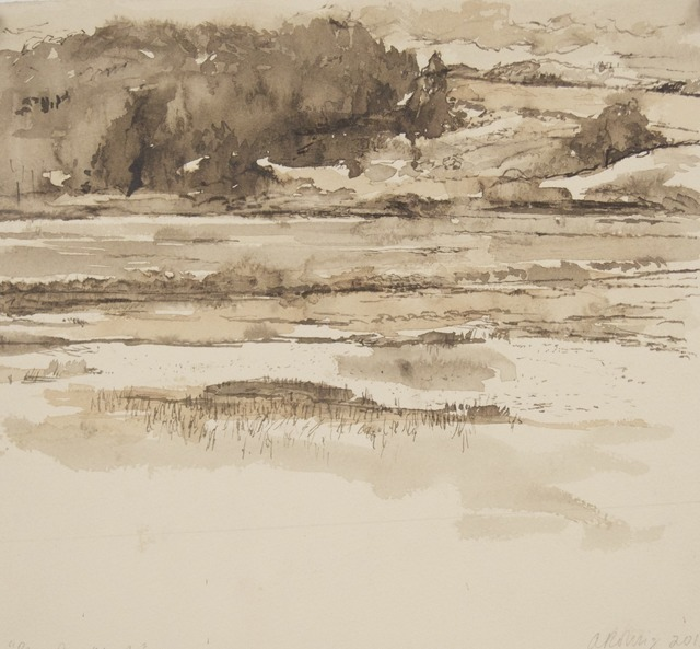 , 'Pescadero Marsh,' 2013, Seager Gray Gallery