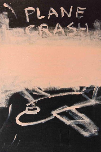 , 'Plane Crash,' 2016, Boiler Galeria