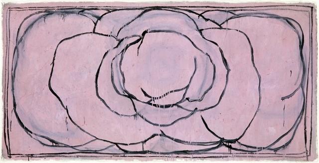, 'Rosa horizontal,' 1990, Bernhard Knaus Fine Art