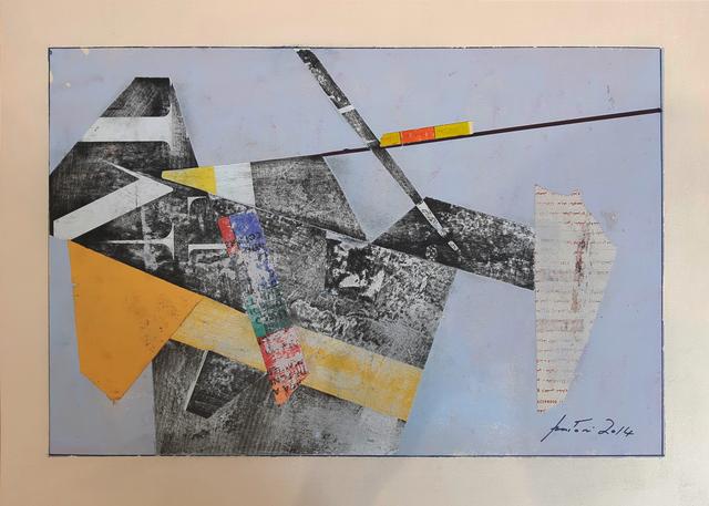 , 'work n°2,' 2014, Galleria Quadrifoglio