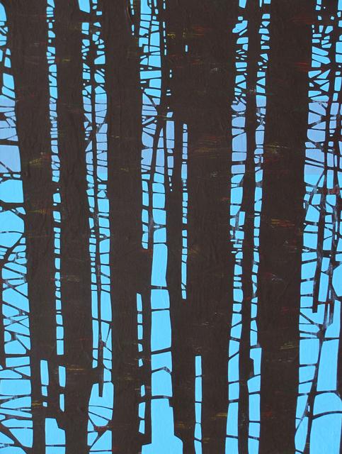 , 'Trees 2 December 14:31,' 2014, Galerie Sandhofer