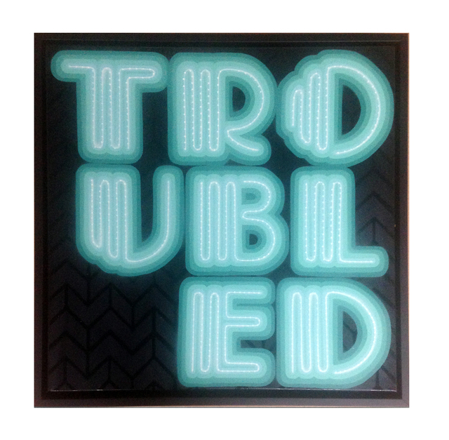 , 'TROUBLED (Mint),' 2015, StolenSpace Gallery