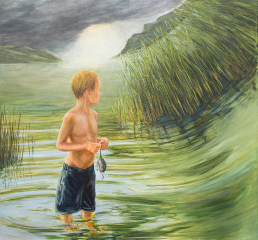Bernard Ammerer, 'Childhood 1', 2017, Painting, Oil on canvas, Galerie Frey