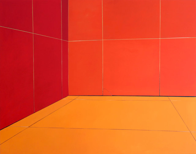 , 'Between Yellow and Red,' 2018, Acervo – Contemporary Art