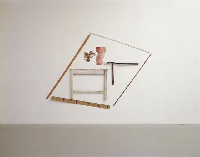 , 'A Room with a Table,' 1979, Dvir Gallery