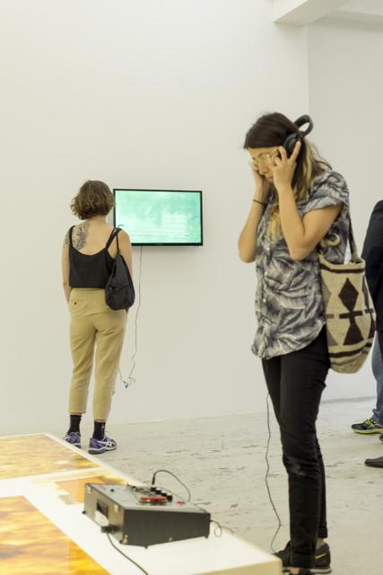 , 'Conversations with an Unemployed,' 2013, Beirut Art Center