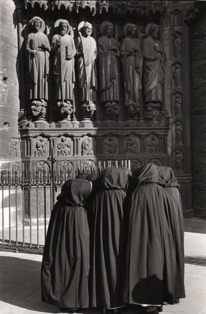 , 'Nuns in front of Notre-Dame, Paris,' 1953, Atlas Gallery