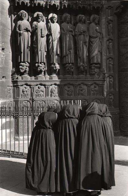 , 'Nuns in front of Notre-Dame, Paris,' 1953, Atlas Gallery