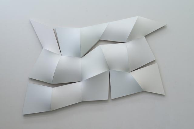 , 'Improved Dynamic Monochrome broken white,' 2015, Sebastian Fath Contemporary