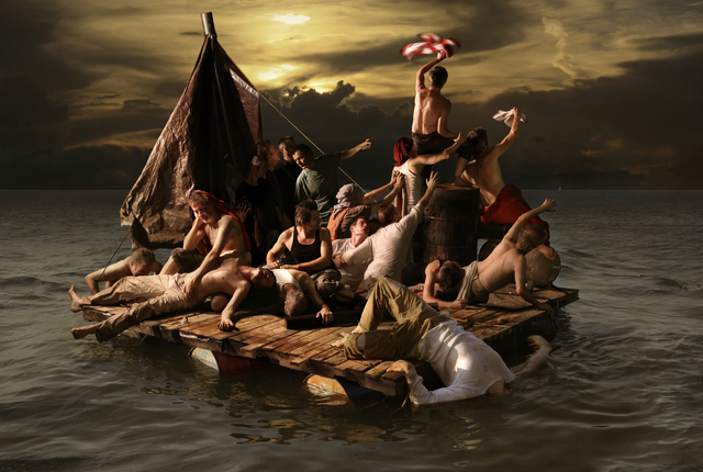 , 'The Raft,' 2010, Cross Mackenzie Gallery
