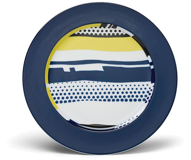 Roy Lichtenstein, 'Six abstract service plates', 1990, Phillips