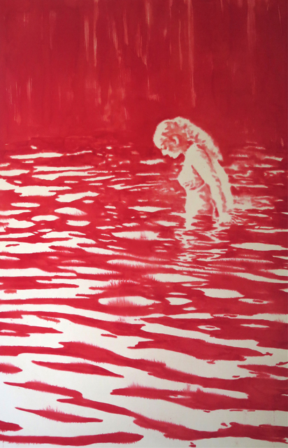 , 'Lady in Lake,' 2015, Christopher Cutts Gallery