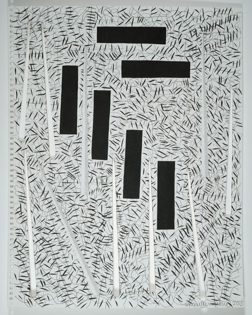 """, 'Drawing from the series, """"Endless"""" Nº 51,' 2015, Sicardi Gallery"""