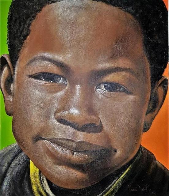George Velaphi Mzimba, 'Thembinkosi ', ca. 2019, Painting, Acrylic on canvas, Tanya Baxter Contemporary