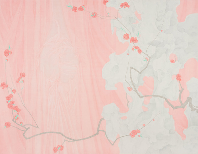 Zhang Jian 张见, 'Peachy Red', 2018, Amy Li Gallery