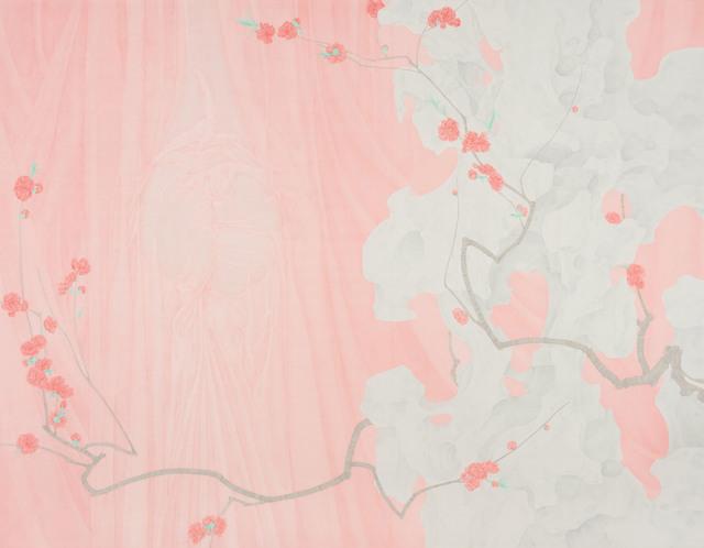 , 'Peachy Red,' 2018, Amy Li Gallery