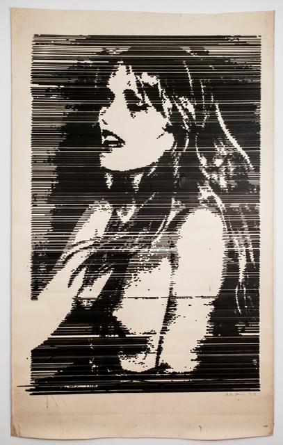 , 'Patti Hansen,' 1979, Postmasters Gallery