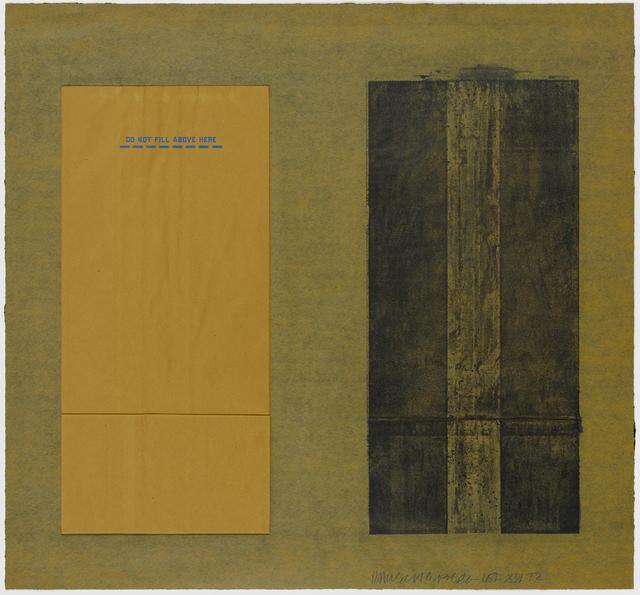 Robert Rauschenberg, 'Tampa 3', 1972, Graphicstudio USF