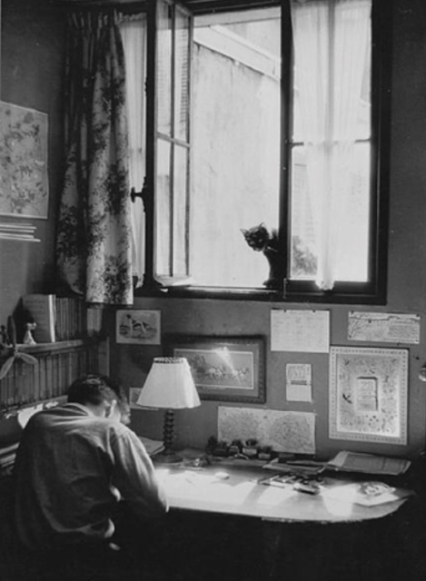 Willy Ronis, 'Vincent et le chat', 1955, Grob Gallery