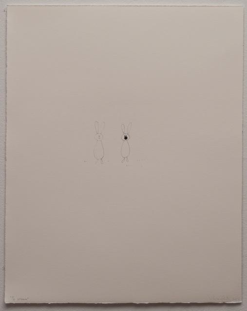 , 'To scream I,' 2014, Espacio Mínimo