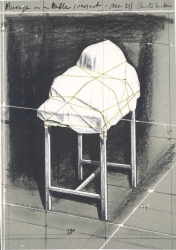 Christo, 'Package on a table', 1989, Kunzt Gallery