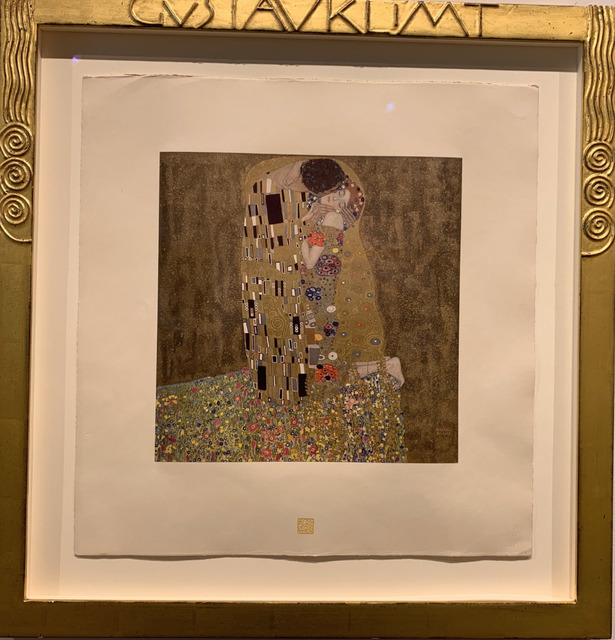 Gustav Klimt, 'The Kiss', 1908-1914, Acquisitions Of Fine Art