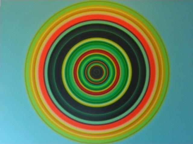 , 'Stem Cell Oculus #4,' 2015, William Campbell Contemporary Art, Inc.