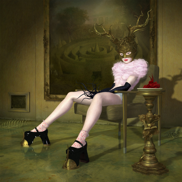Ray Caesar, 'Infamia Di Creti', Print, One of a kind single varnished, Dorothy Circus Gallery