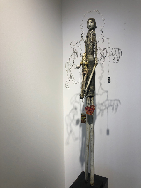 , 'Game Ball,' 2018, Patricia Rovzar Gallery