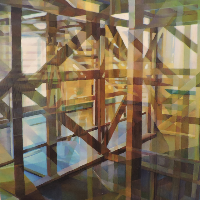 , 'Wooden Structure III,' 2015, Duane Reed Gallery