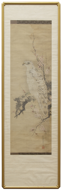 Unknown Japanese, 'Hawk Scroll Painting', Heather James Gallery Auction