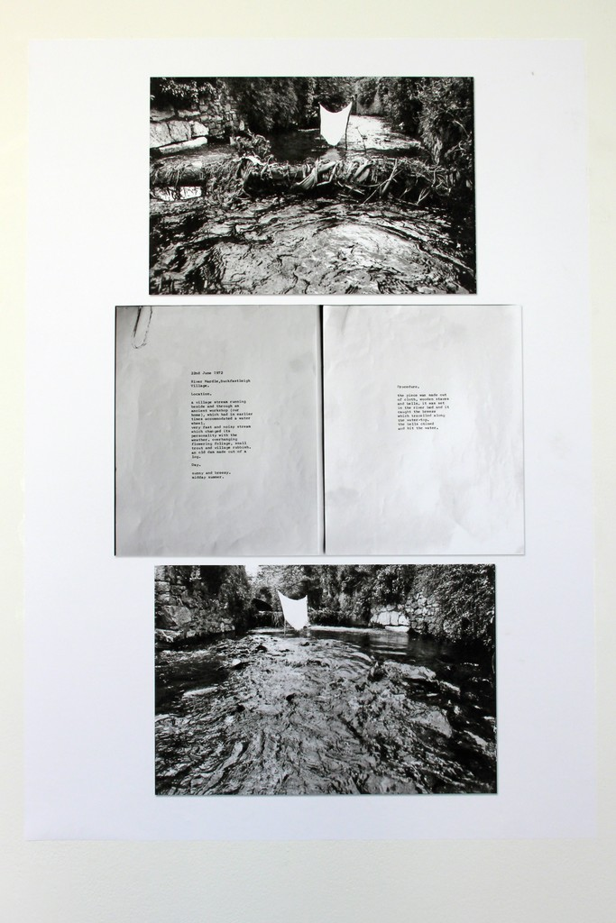 Marie Yates, Field Working Paper 11, 22nd June 1972, River Mardle, Buckfastleigh Village.