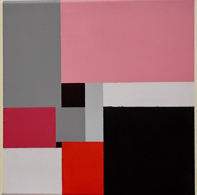 , 'Untitled 9 Squares 18072,' 2018, Robert Kananaj Gallery