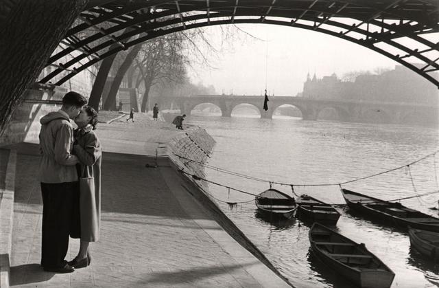 , 'Lovers of the Pont Des Arts, Paris.,' 1953, Atlas Gallery