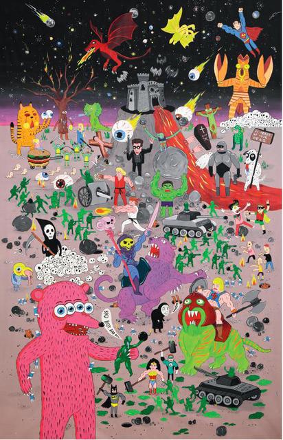 , 'War Game,' 2015, Erdmann Contemporary