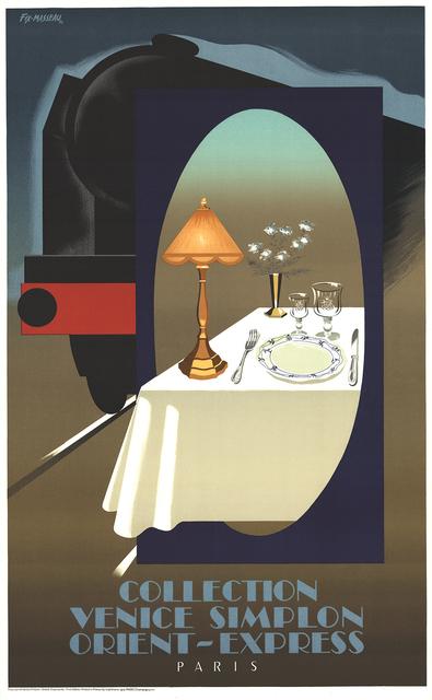 , 'Orient - Express,' (Date unknown), ArtWise