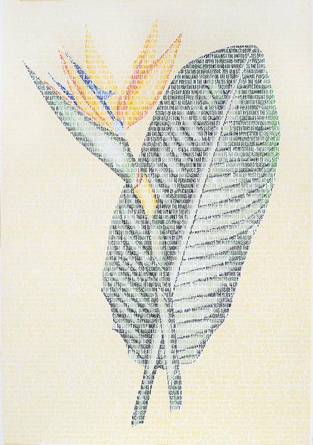 , 'Rodolfo Strelitzia,' 2014, Y Gallery