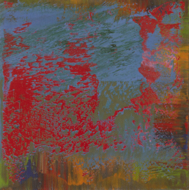 Greg Allen, 'Destroyed Richter Painting No.10', 2016, Photography, UV pigment on aluminum, Magdalena Sawon