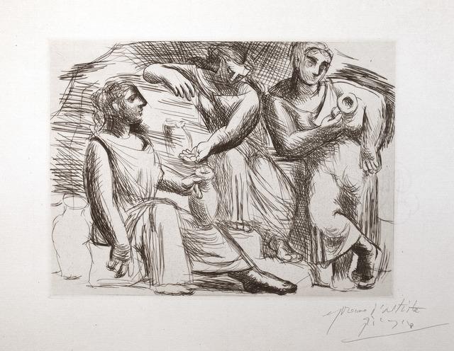 , 'La Source (Trois femmes à la fontaine),' 1921, R. S. Johnson Fine Art
