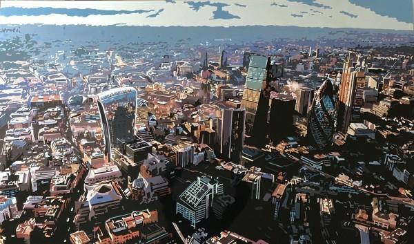 , 'The City XVIII, London,' 2020, TAG Fine Arts