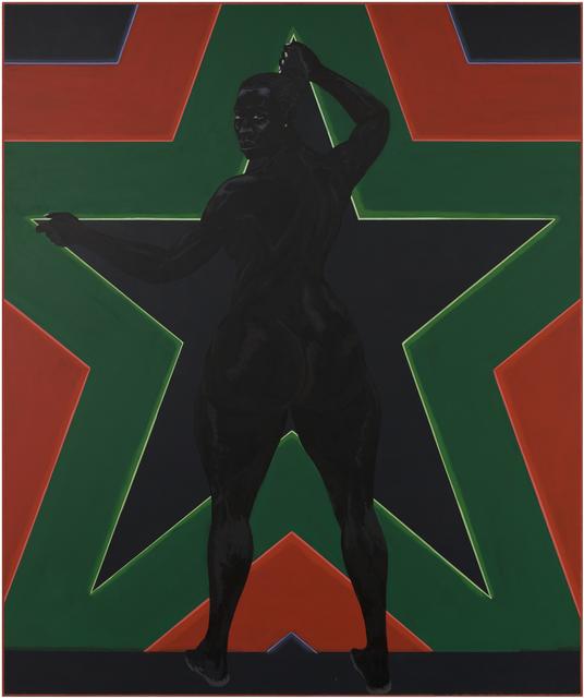 , 'Black Star 2,' 2012, MCA Chicago