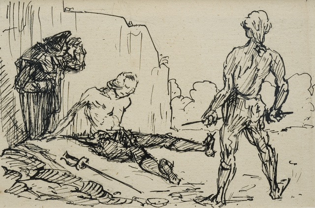 Alfred Kubin, 'The Vicar of Wakefield ', 1932, Henze & Ketterer