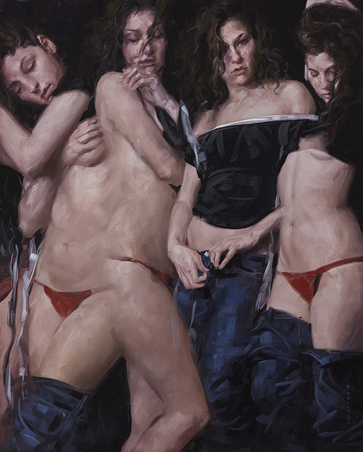 , 'Undressing 3,' 2017, Rehs Contemporary Galleries